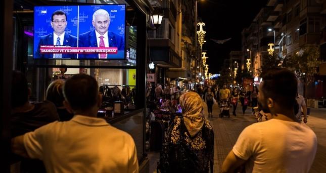 Yıldırım, Imamoğlu face off in live debate