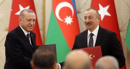 أردوغان: هدفنا رفع التبادل التجاري مع أذربيجان إلى 15 مليار دولار