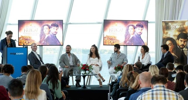 The cast of Hercai at the Q&A and Networking Session.