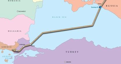 غازبروم تعلن اكتمال ملء أنابيب السيل التركي بالغاز