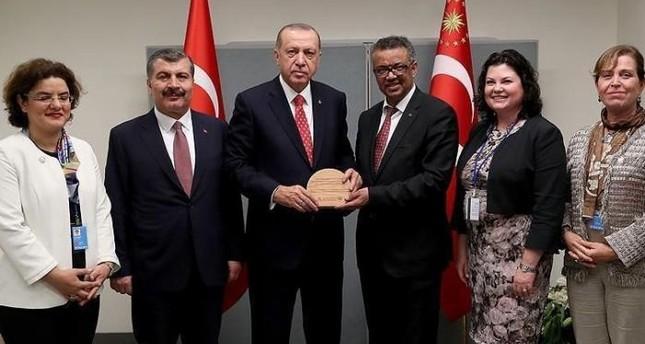 وزارة الصحة التركية تفوز بجائزة النجاح