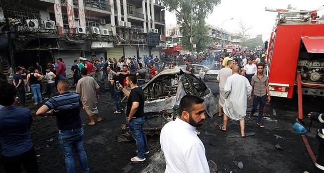 83 قتيلا وقرابة 200 جريح في تفجيرين وسط بغداد وداعش تتبنى