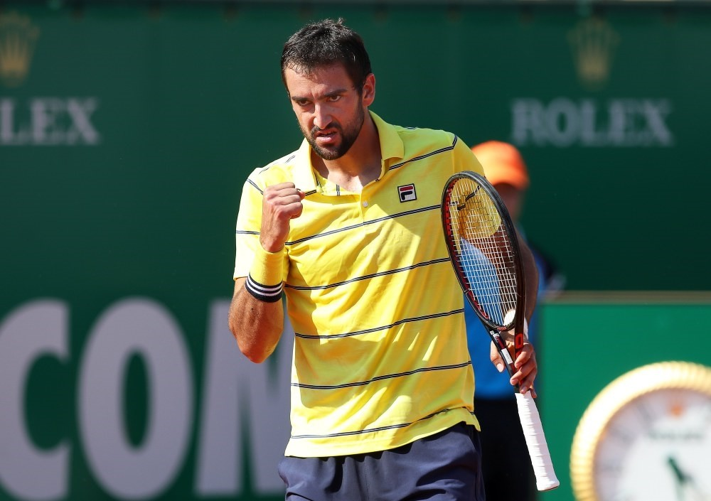 World's third ranking tennis player Crotian Marin Cilic will play in Istanbul Open which will end May 6.