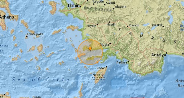 Turkey's Bodrum shaken by earthquakes quake weeks after a major magnitude 6.7 quake