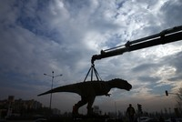 Ankara's iconic T. rex statue goes the way of the dinosaurs