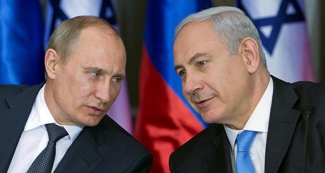 نتنياهو في موسكو لبحث قضية الوجود الإيراني في سوريا