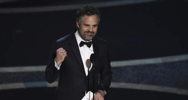 Mark Ruffalo presents the award for best documentary feature at the Oscars on Sunday, Feb. 9, 2020. AP Photo