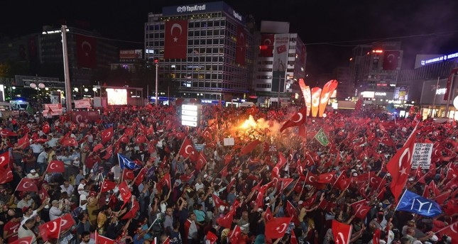 Democracy rallies following coup attempt mark last week