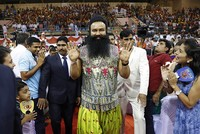 Indian court sends rapist guru to jail for 20 years amid tight security