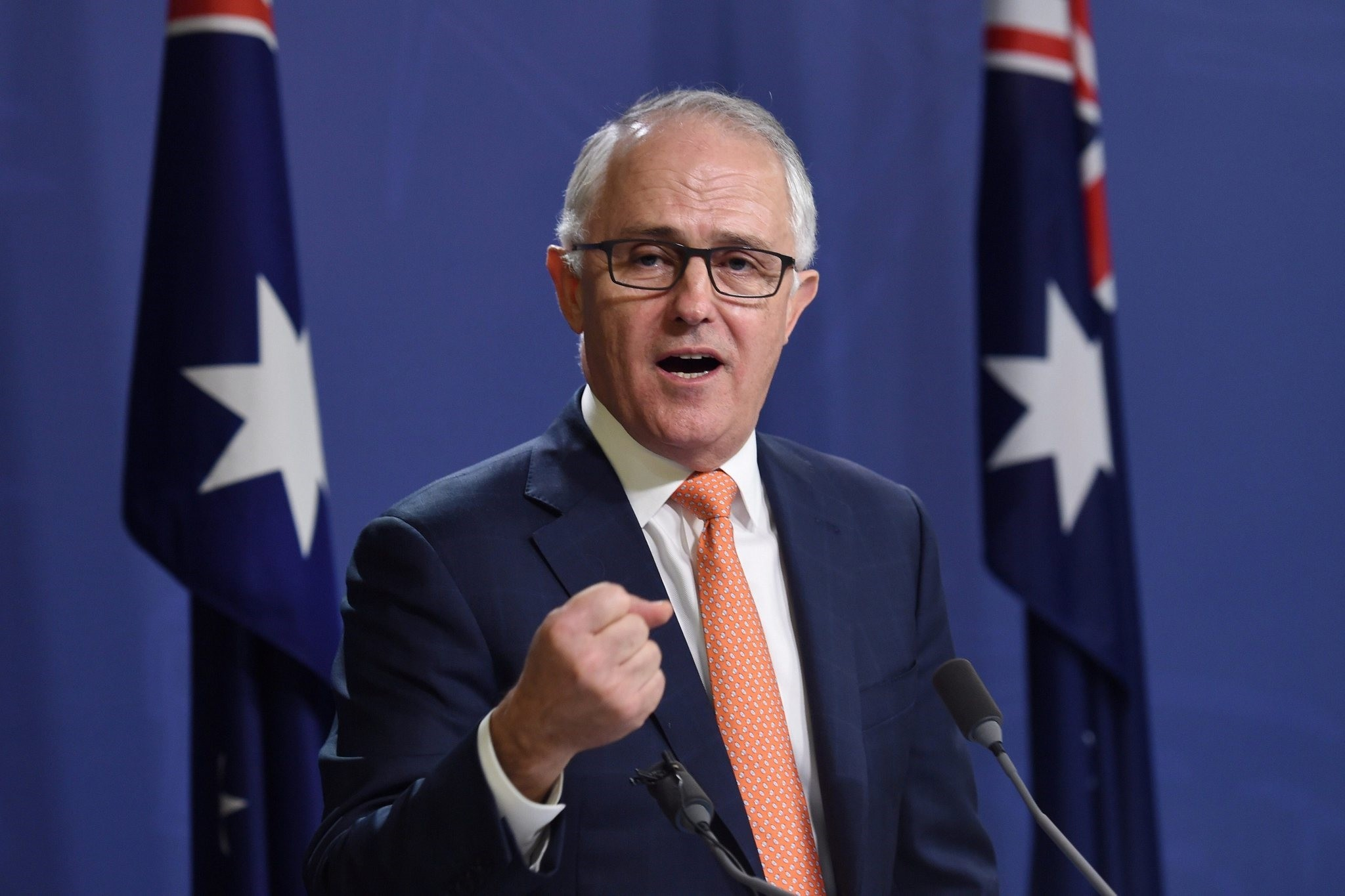 Australian Prime Minister Malcolm Turnbull speaks during a news conference in Sydney, Australia, July 10, 2016. (REUTERS Photo)