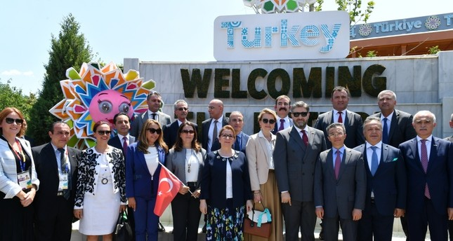 Turkish pavilion at Beijing Expo showcases manufacturing strength
