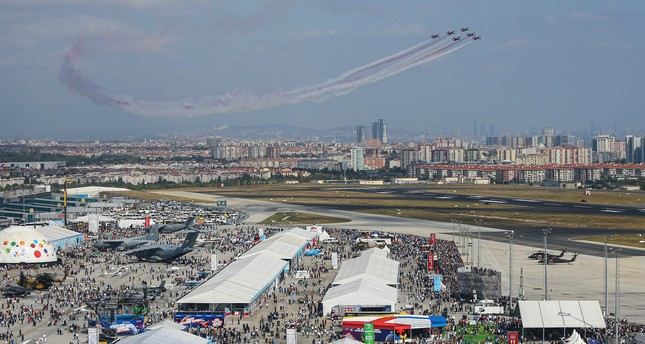 The number of visitors at the six-day Teknofest Istanbul is expected to have reached around 1.5 million.