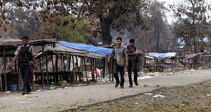 pEine große Anzahl von Dörfern, die zuvor von Rohingya-Muslimen bewohnt waren bevor sie von der Armee Myanmars angegriffen wurden, sei nun völlig verlassen, gab die Regierung am Mittwoch...