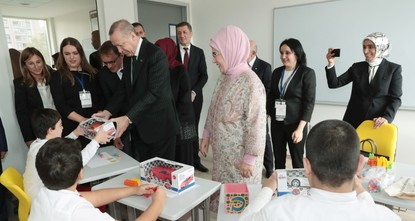 Turkey's largest school for the disabled opens