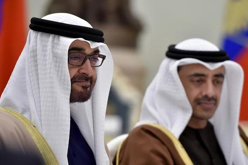 Sheikh Mohammed bin Zayed al-Nahyan (L), Crown Prince of Abu Dhabi (Reuters File Photo)