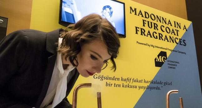 Fragrances for 'Madonna in a Fur Coat'