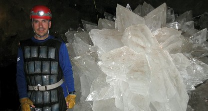 pIn a Mexican cave system so beautiful and hot that it is called both Fairyland and hell, scientists have discovered life trapped in crystals that could be 50,000 years old./p  pThe bizarre and...