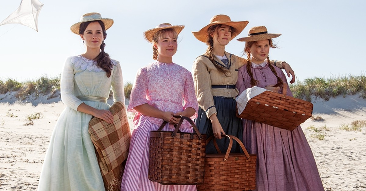 Emma Watson, Florence Pugh, Saoirse Ronan and Eliza Scanlen in ,Little Women.,
