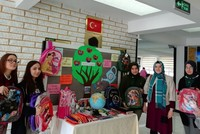 Students in Turkey's Amasya donate school supplies to Syria's Afrin to mark Teachers' Day