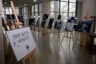 معرض صور لضحايا مجزرة هوجالي في إطار حملة العدالة من أجل هوجالي الدولية الأناضول