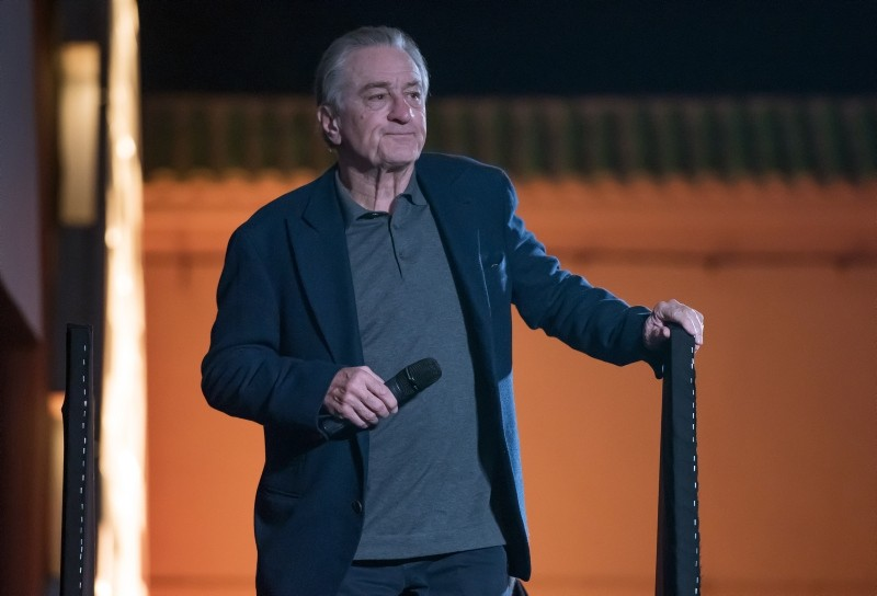 US actor Robert De Niro attends the screening of 'The Untouchables' at the 17th annual Marrakech International Film Festival, in Marrakesh, Morocco, Dec. 2, 2018. (EPA Photo)