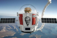 'Alienburger' returns from space in KFC publicity stunt