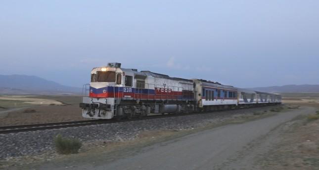 The train service will start regularly bringing passengers from Tehran to Ankara next week.
