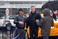 Actor Sean Penn in Istanbul for Khashoggi documentary