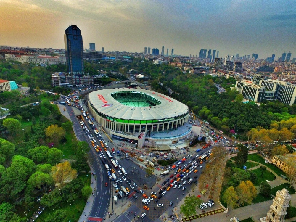 Beu015fiktau015f opened their new stadium, the Vodafone Arena, which is among the most modern stadiums in the world, on Apr. 10, 2016.