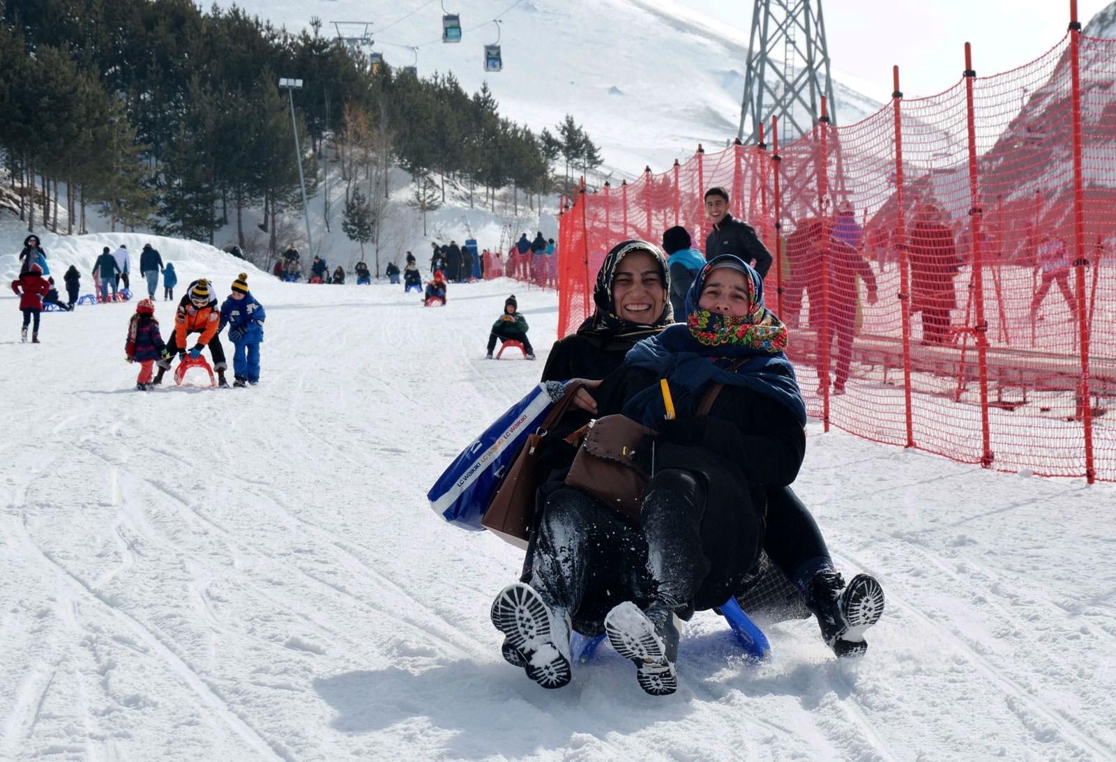 Разнообразная турецкая зима