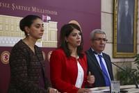 """Das Innenministerium verurteilte am Sonntag die Abgeordneten der """"Demokratische Partei der Völker"""