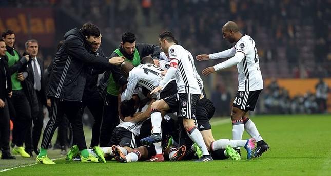 Beşiktaş beats Galatasaray 1-0 in Istanbul derby