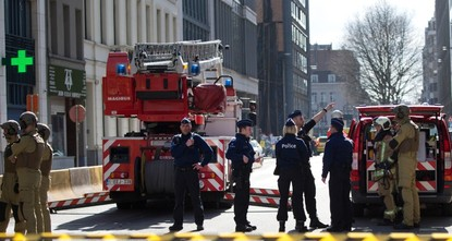 Area near EU HQ in Brussels evacuated over bomb threat
