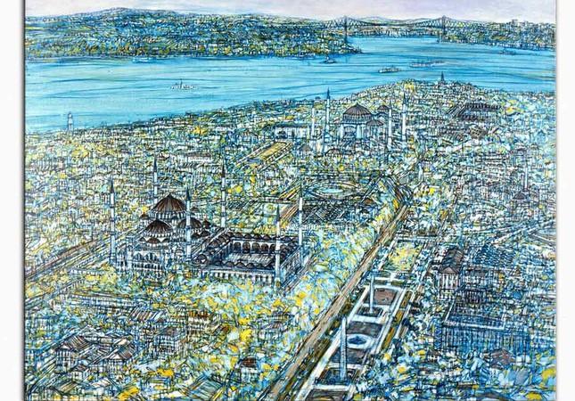 Istanbul Art Show to host veteran artist