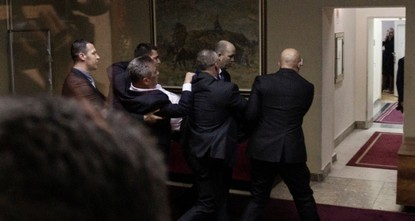 Montenegro's Pro-Serb opposition leaders arrested after chaos in parliament