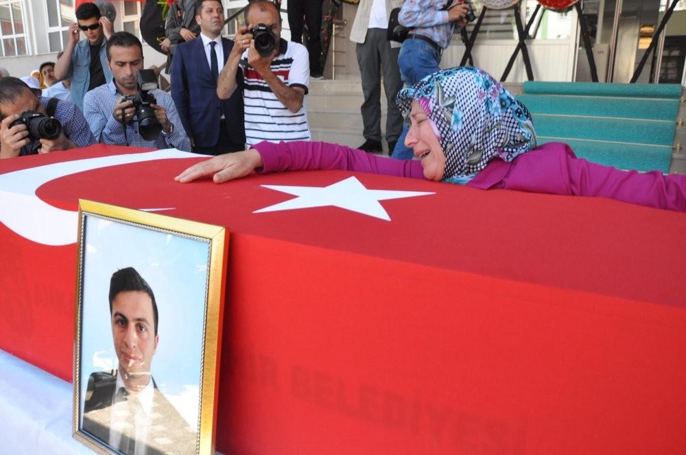 Necmettin Yu0131lmaz, 23, was a teacher in u015eanlu0131urfa before he was kidnapped and killed by the PKK.