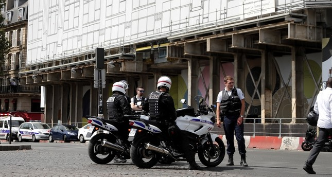 عناصر من شرطة المرور الفرنسية (من الأرشيف)