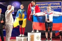 Female Turkish weightlifter becomes European champion