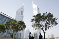 Dubai's real estate slump threatens finance center