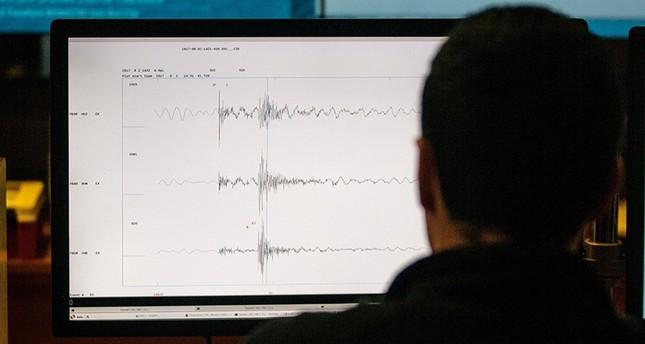 زلزالان يضربان غرب البحر المتوسط صباح اليوم