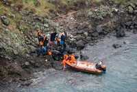 Turkish coast guard rescues 44 migrants stranded on Aegean island