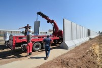 Turkey-Syria border wall to be completed by mid-2017, defense minister says