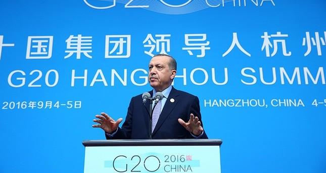 أردوغان في ختام قمة العشرين: طرحنا مجدداً مقترحنا لإقامة منطقة آمنة بسوريا