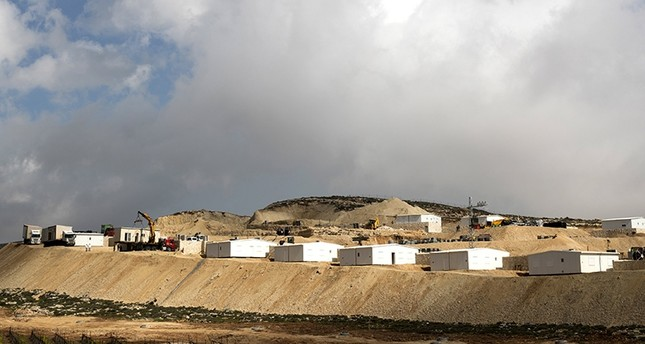 A general view of Amichai, the first Israeli West Bank settlement in 26 years, Feb. 22, 2018. (EPA Photo)