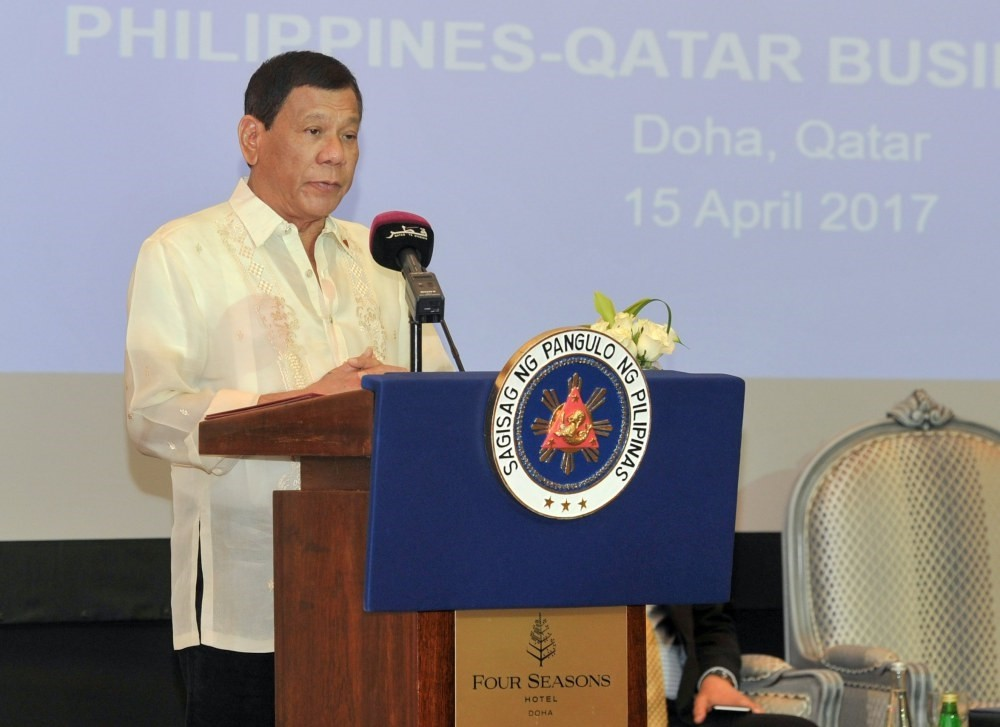 Filipino President Rodrigo Duterte