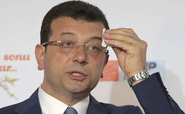 Mayor of Istanbul, CHP's Ekrem ?mamo?lu.