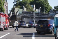 Two men were stabbed to death in the U.S. city of Portland on Friday when they tried to stop their attacker from harassing two women because they appeared to be Muslim, police said.  The incident...