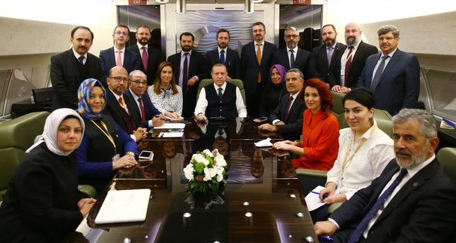 President Erdoğan said the sole cause of the visa crisis between Ankara and Washington was outgoing U.S. envoy John Bass