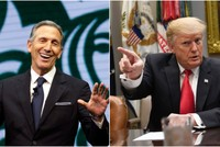 Trump rips ex-Starbucks CEO Schultz, saying he 'doesn't have the guts' to run for president