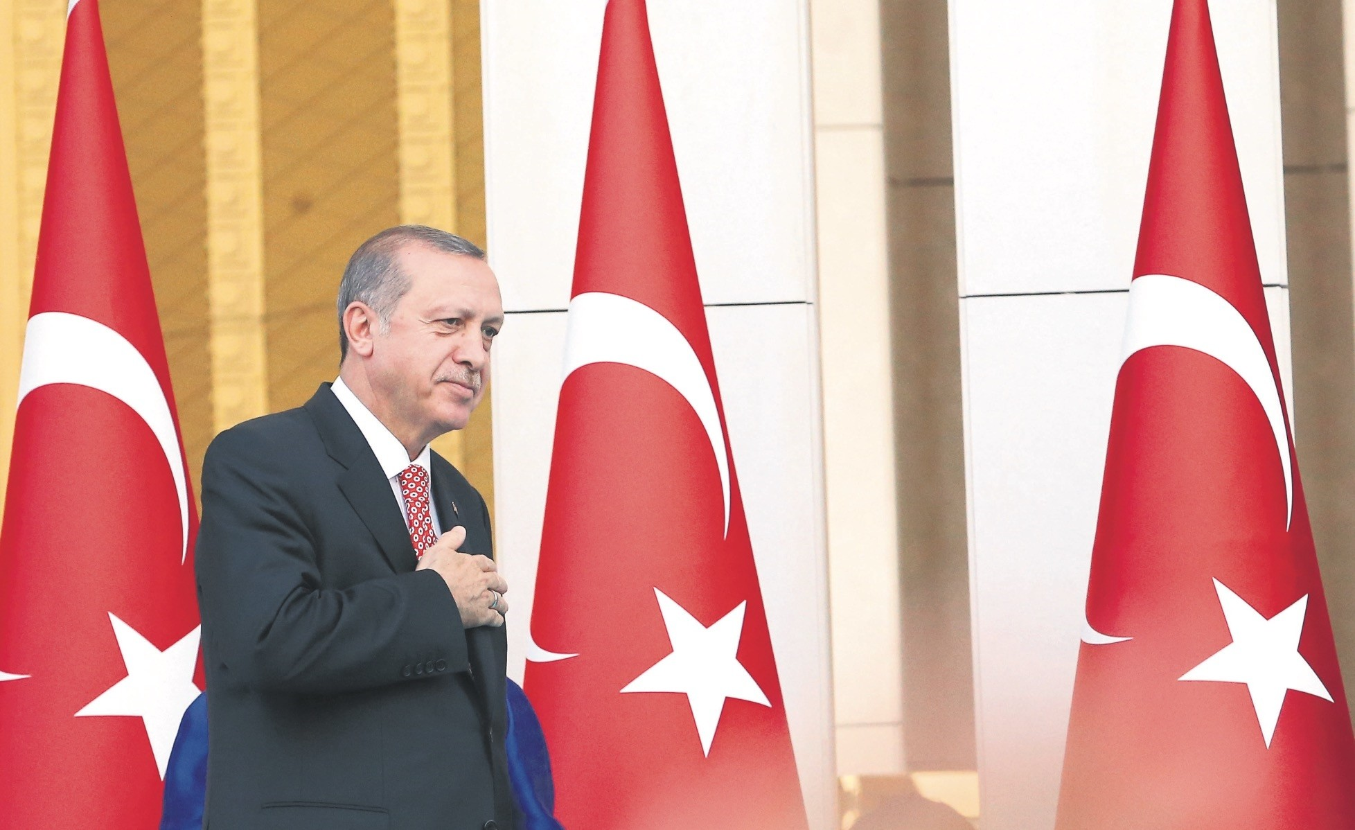 More than 20 heads of states and high-level officials will attend the ceremony at the Beu015ftepe Presidential Complex in Ankara.